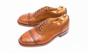 バーバリー買取大塚製靴製インペリアルグレード未使用品