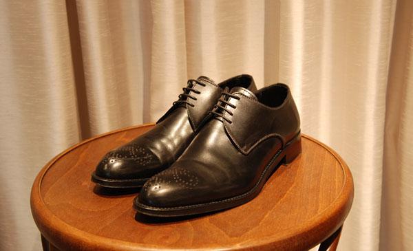 エルメネジルドゼニア革靴