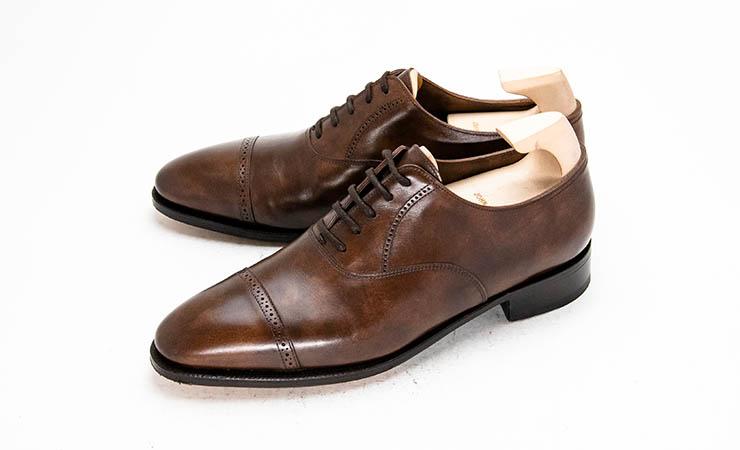 【ジョンロブ買取】JOHNLOBB革靴買取専門店ラスタイル,全国対応買取でPHILIPII【フィリップ2】パンチドキャップトゥパリジャンブラウンミュージアムカーフプレステージラインをお売りいただきました,ブランド革靴をお売りください「買取相場」有