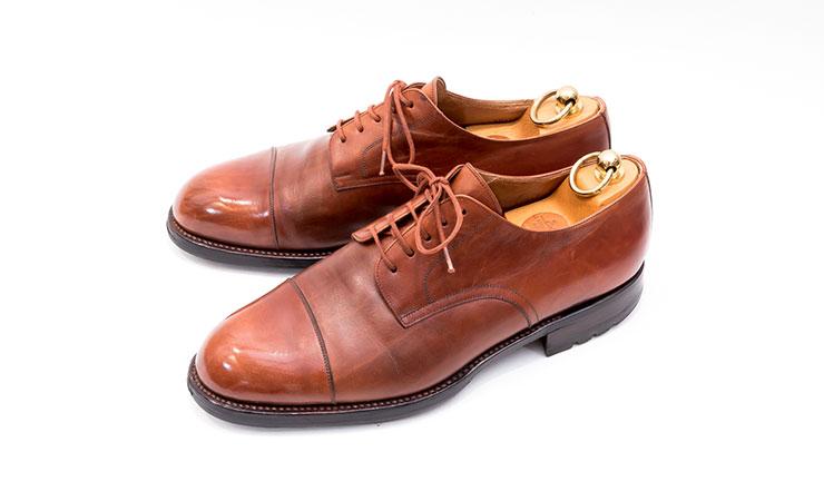 【ヤンコ買取】YANKO革靴買取専門店ラスタイル,全国対応買取でストレートチップブラウンをお買取いたしました,ブランド革靴をお売りください「買取相場」有