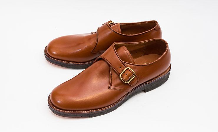 【オールデン買取】ALDEN革靴買取専門店ラスタイル,全国対応買取で18710シングルモンクモンクストラップカーフミリタリーラストをお売りいただきました,ブランド革靴をお売りください「買取相場」有