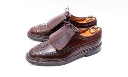 【オールデン買取】ALDEN革靴買取専門店ラスタイル,全国対応買取でキルト付きロングウィングチップ975Rマルセルランサンス別注をお売りいただきました,ブランド革靴をお売りください「買取相場」有