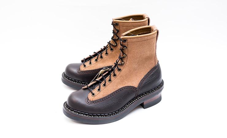 安藤製靴買取NEROJEREMYネロジェレミーブラックベージュ