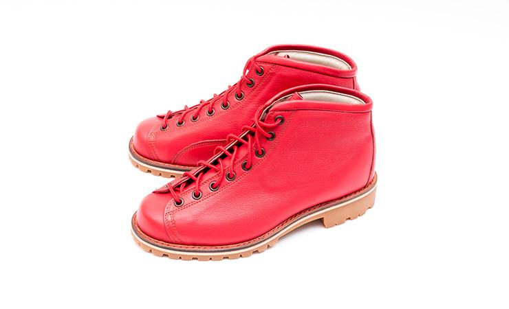 安藤製靴買取ZⅡレッドモンキーブーツラインマンブーツ