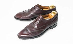 大塚製靴買取ブラインドブローグアノネイハーフメジャーオーダー品