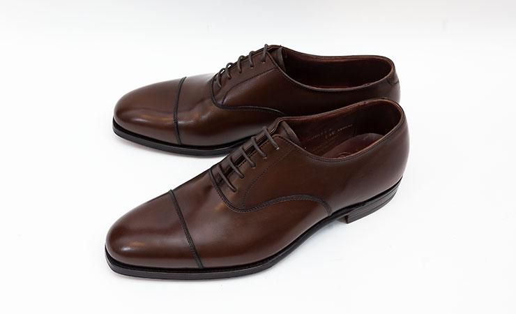 【クロケット&ジョーンズ買取】Crockett&Jones革靴買取専門店ラスタイル,全国対応買取でAUDREY3【オードリー3】内羽根ストレートチップダークブラウンハンドグレードラインをお売りいただきました,ブランド革靴をお売りください「買取相場」有