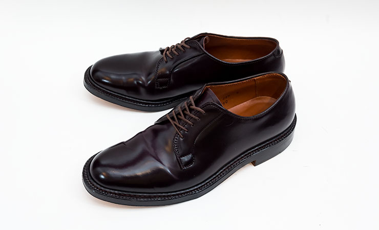 【オールデン買取】ALDEN革靴買取専門店ラスタイル,全国対応買取で990外羽根プレーントゥバーガンディコードバンをお売りいただきました,ブランド革靴をお売りください「買取相場」有